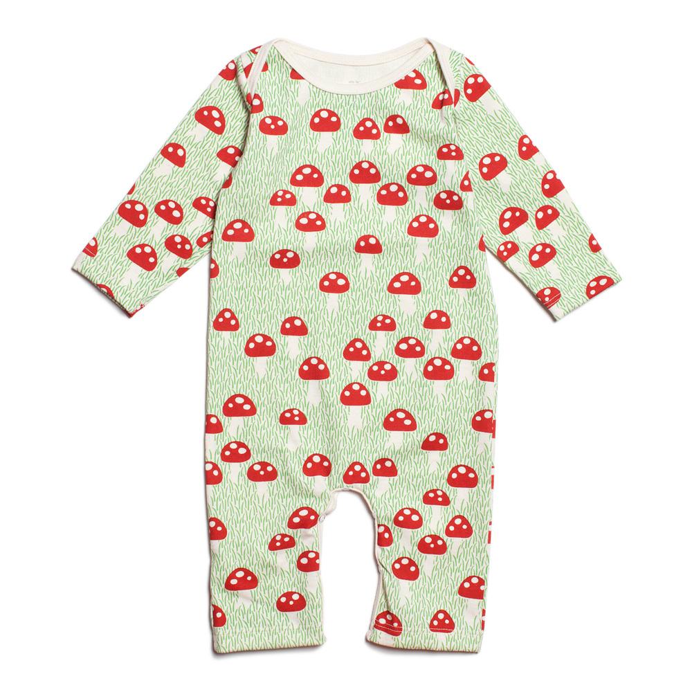 Babystrampler-Fliegenpilz